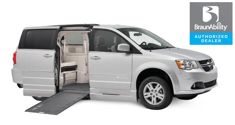 Dodge Wheelchair Van Power Infloor