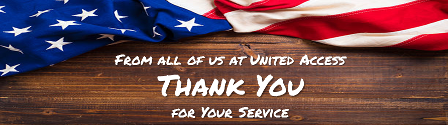 United Access Thanks Your For Your Service