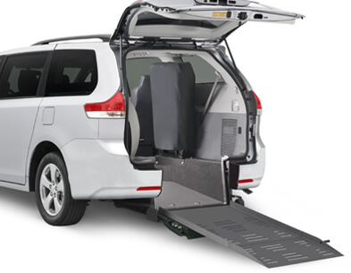 Toyota Wheelchair Van Door Ramp