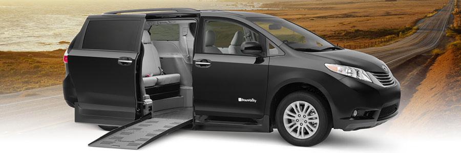 Toyota Wheelchair Van XL Power Foldout