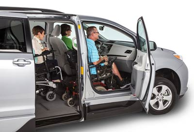 Toyota Wheelchair Van VMI Flexible Seating