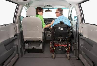 Toyota Wheelchair Van VMI Removable Seating