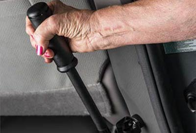 Toyota Wheelchair Van VMI Manual Ramp