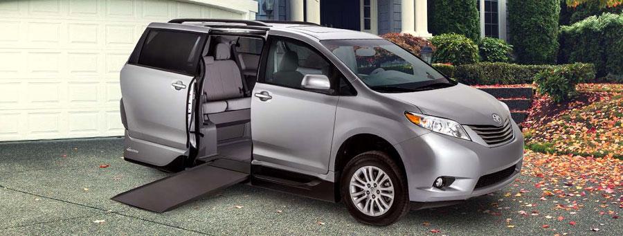 Toyota Wheelchair Van VMI