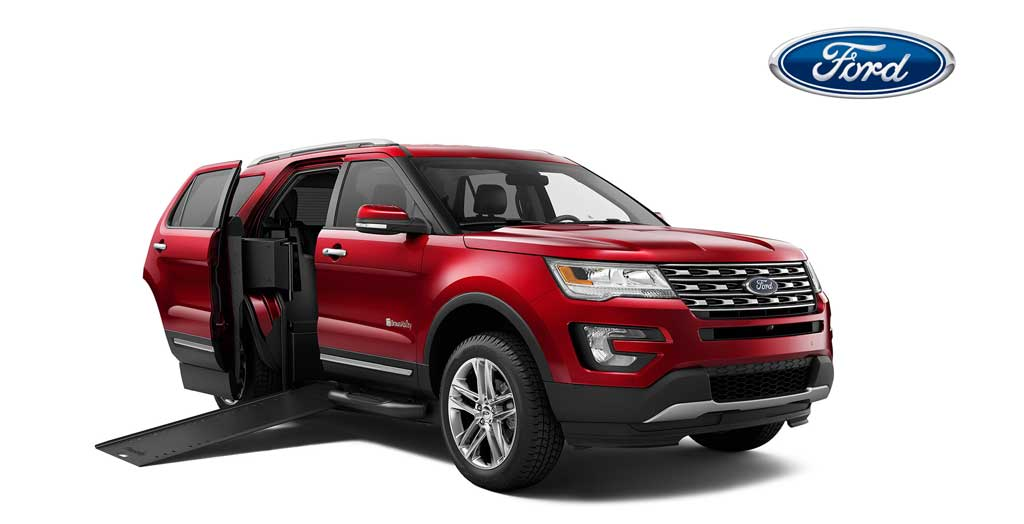 Ford Handicapped SUVs and Wheelchair Sport Utility Vehicles