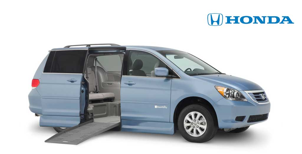 Honda Handicapped Vans and Wheelchair Minivans