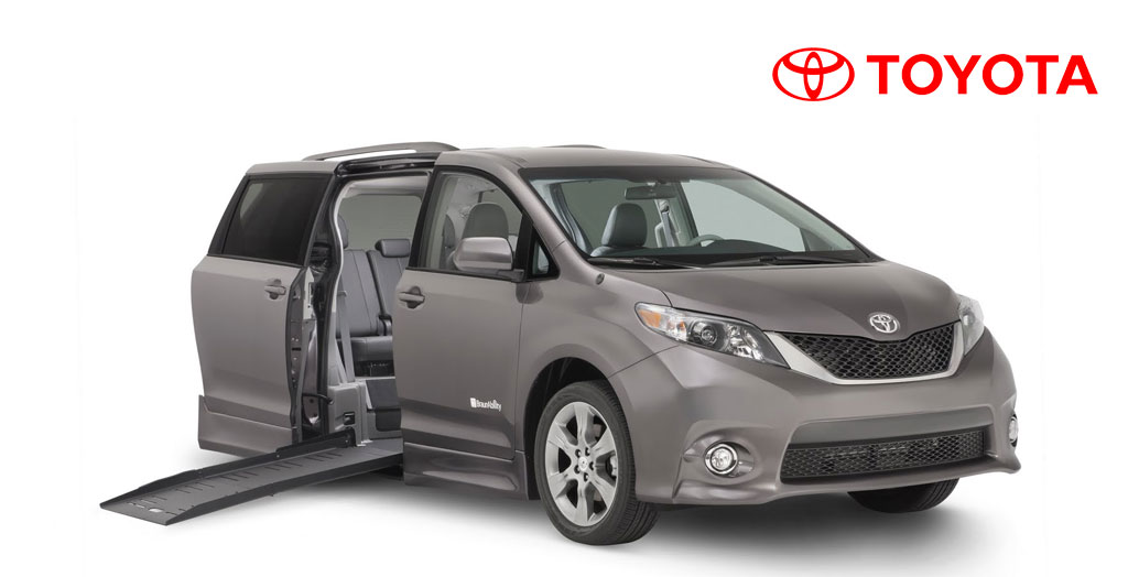 Toyota Handicapped Vans and Wheelchair Minivans