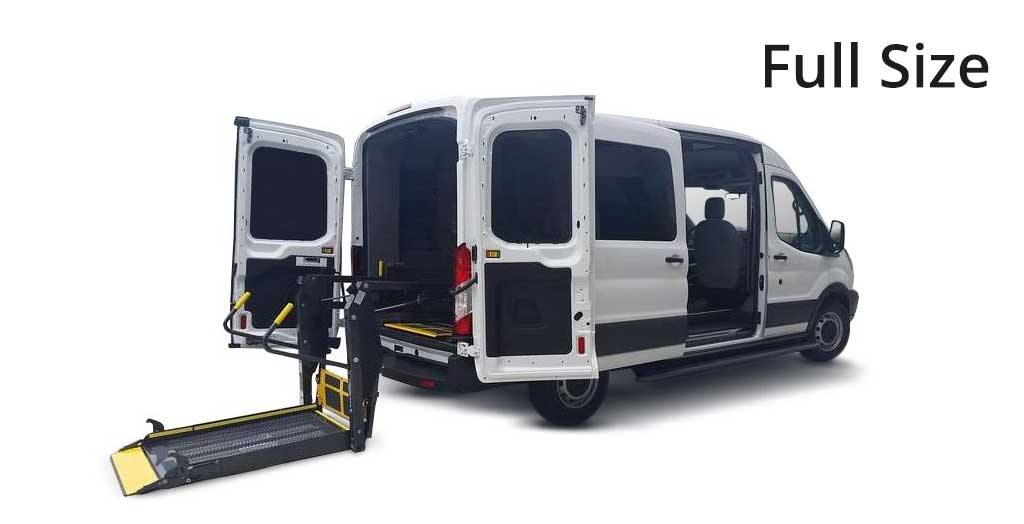 Full Size Handicapped Accessible Vans