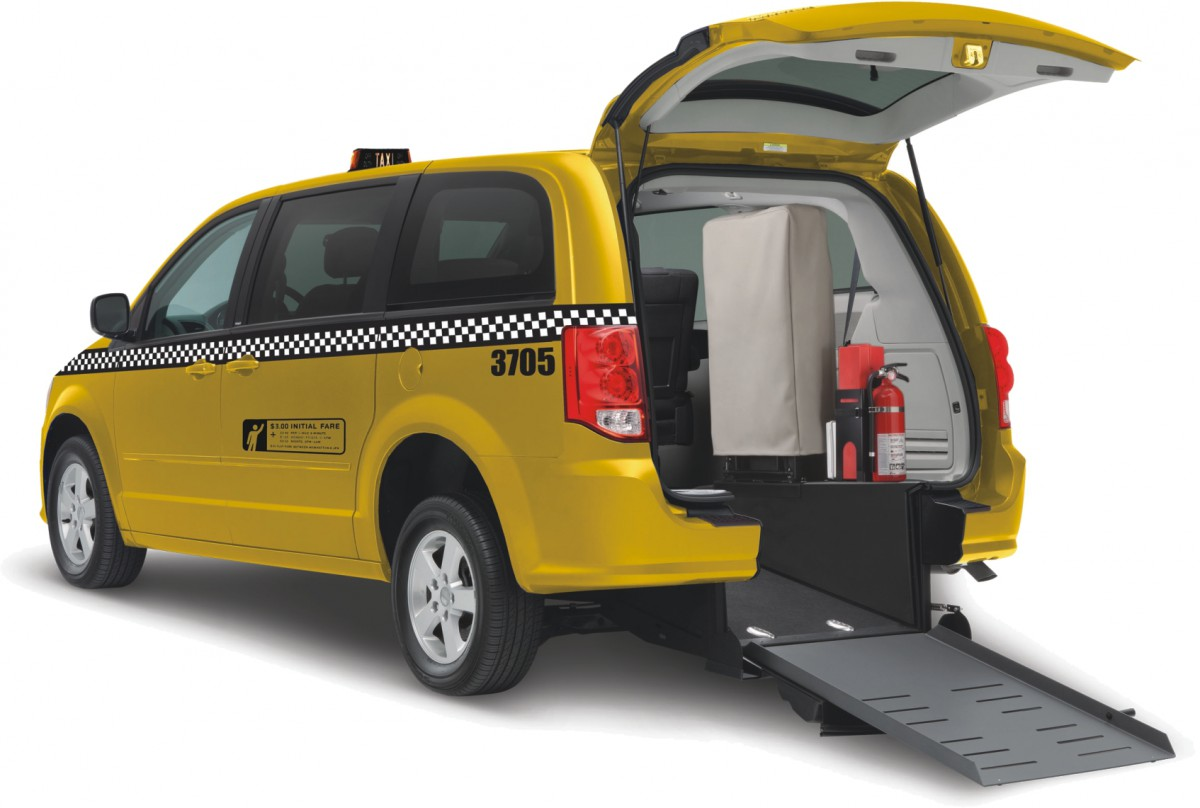 Commercial Wheelchair Accessible Taxi