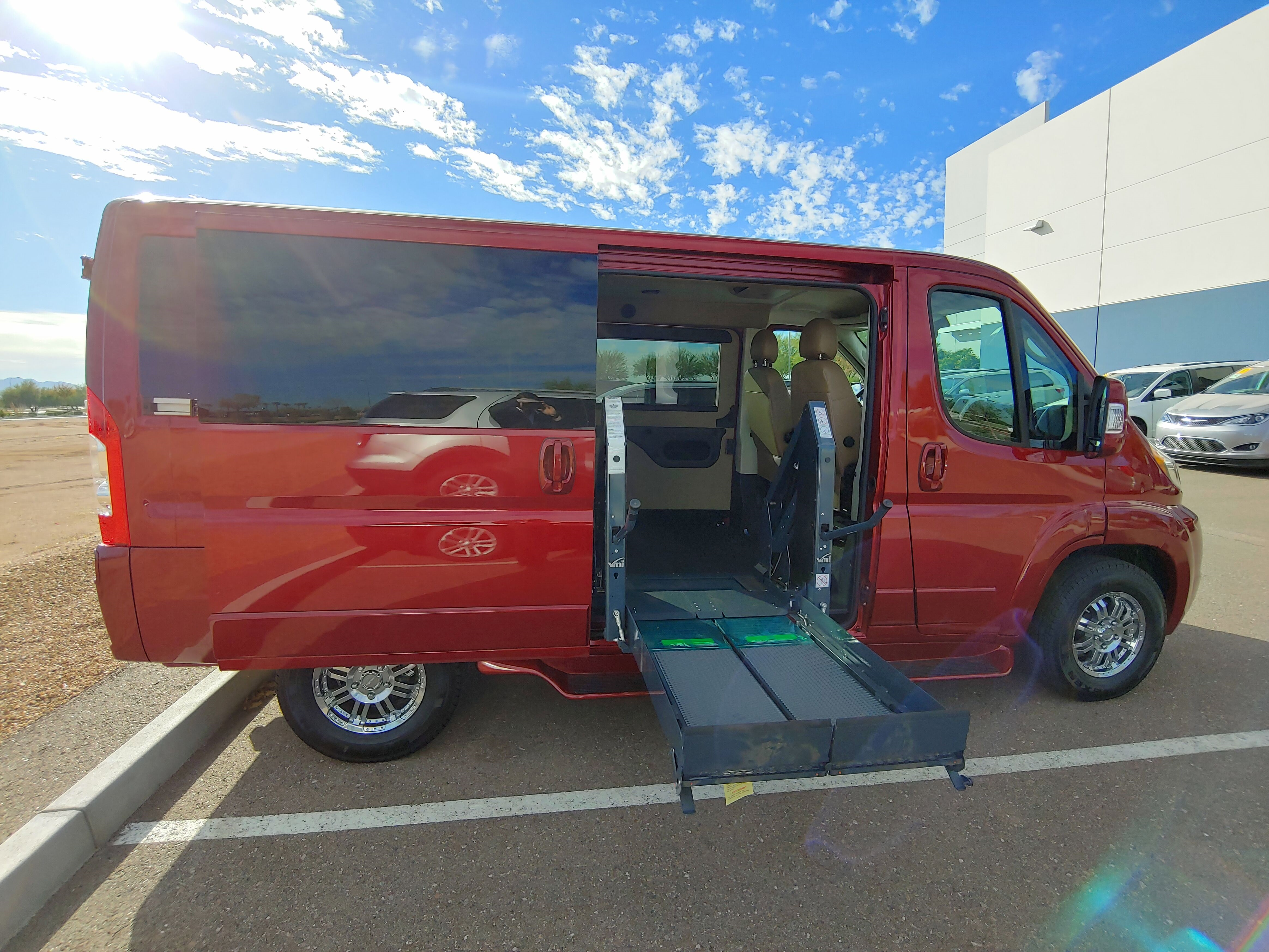 Red Ram Promaster