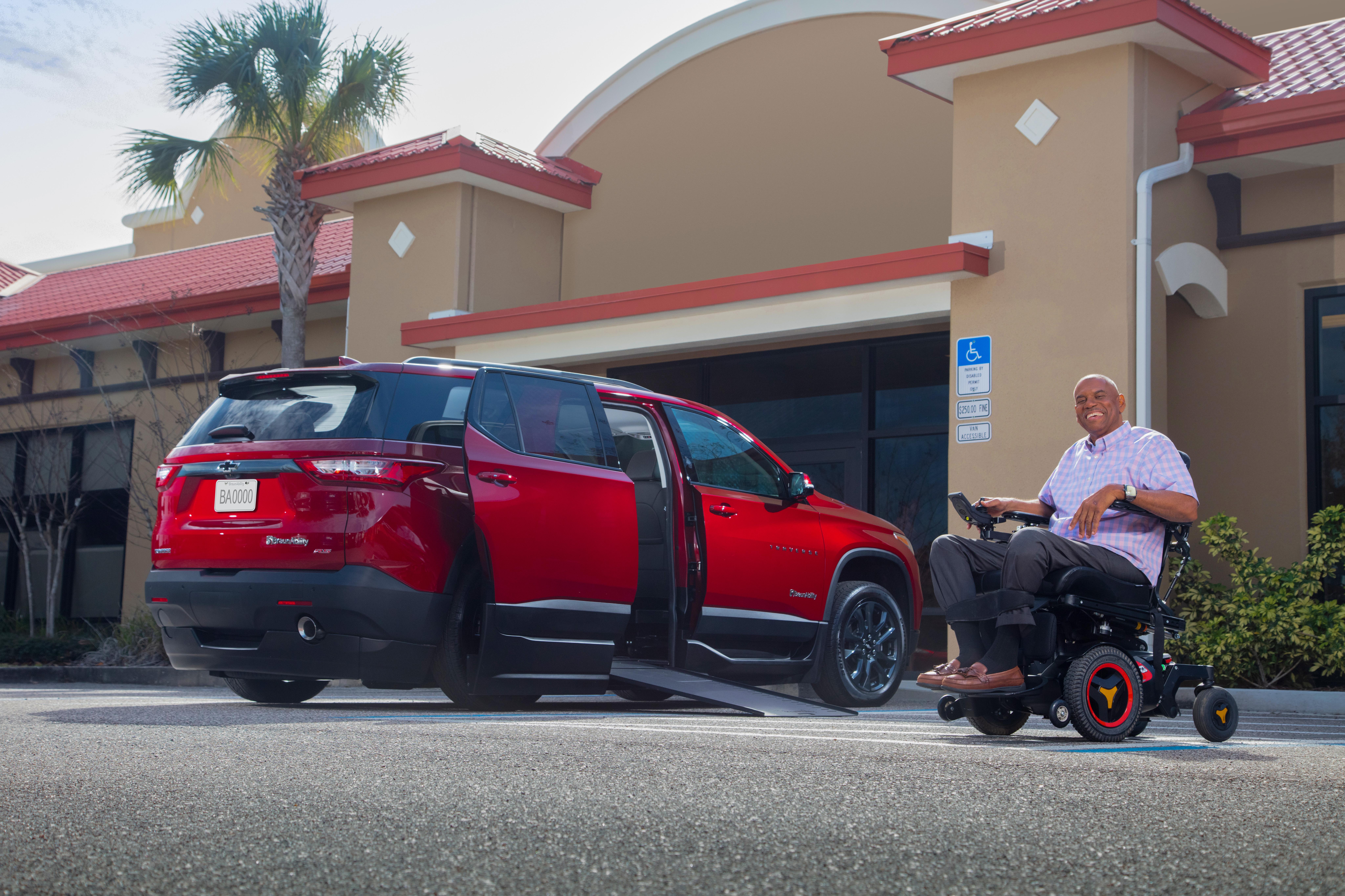 Wheelchair Accessible Chevrolet Traverse SUV