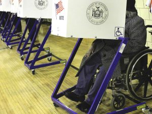 Voting Presidential Election Disabled Community