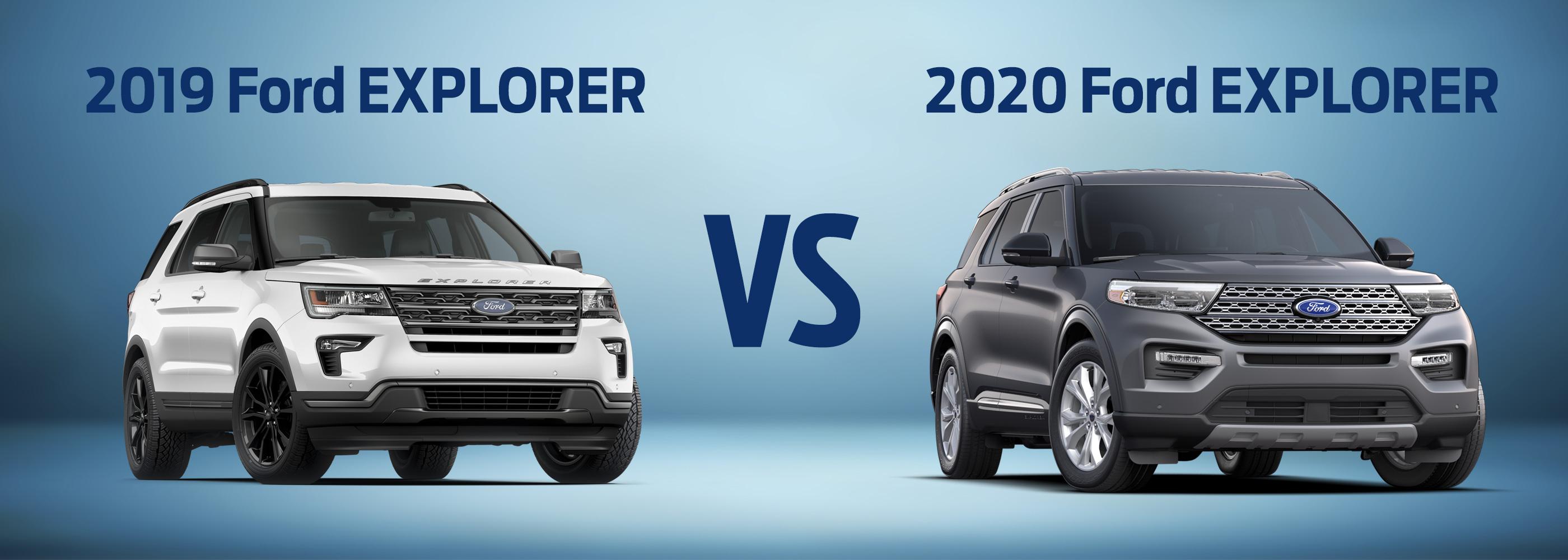 2019 Ford Explorer Vs 2020 Ford Explorer Near Minneapolis