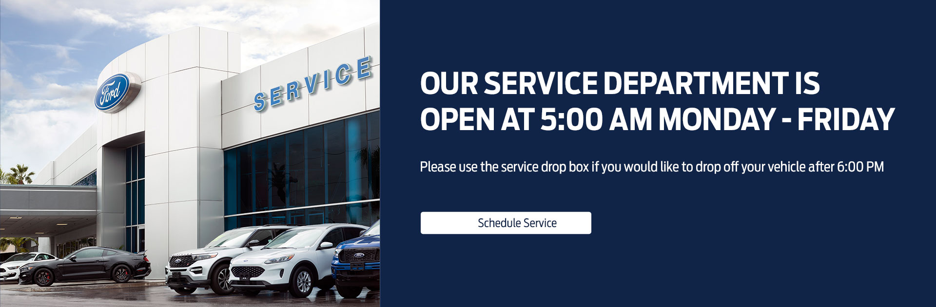 Waconia Ford Service Hours