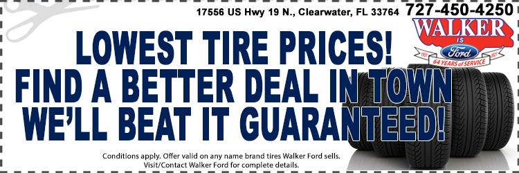 Lowest Tire Price Guarantee