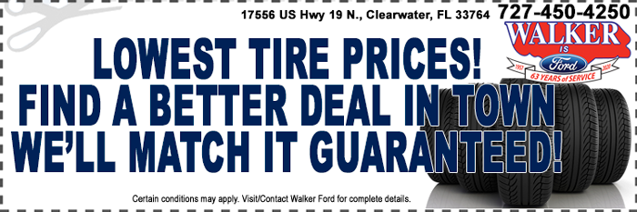 Lowest Tire Prices Guarantee