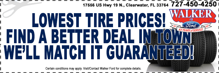 Lowest Tire Pricing Guaranteed