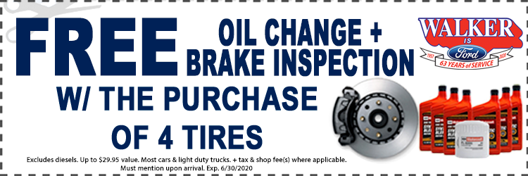 Oil Change And Brake Inspection Special