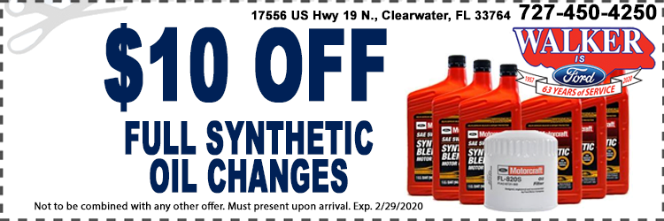Synthetic Oil Change Coupon1