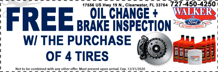 Tire Purchase And Oil Change Special