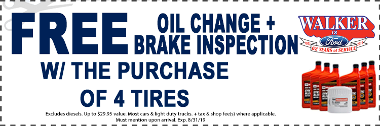 Tires And Oil Change Service Coupons