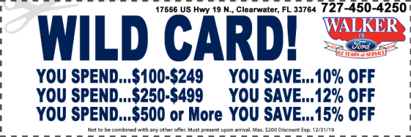 palm bay ford service coupons