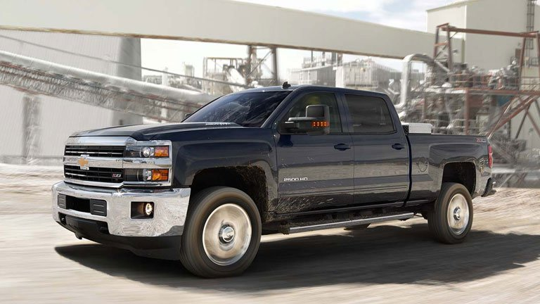 2018 Chevrolet Silverado 2500hd Vs 2017 Chevrolet Silverado 2500hd
