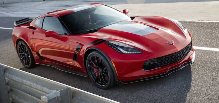 2019 Chevy Corvette Grand Sport