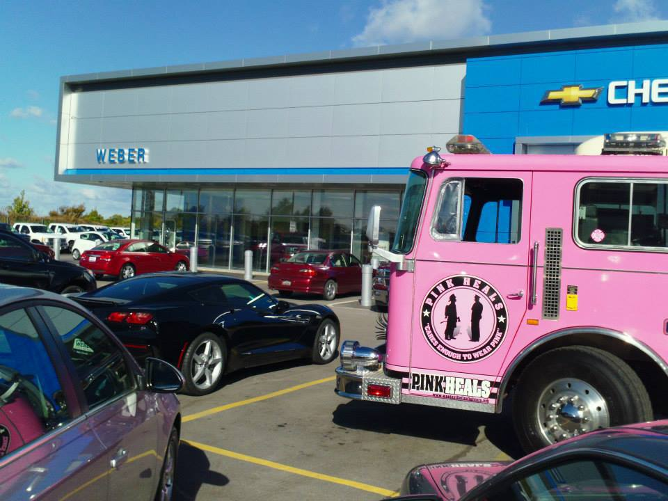Weber Chevrolet Creve Coeur >> Pink Heals Cancer Awareness Campaign Visits Weber Chevrolet in Creve Coeur