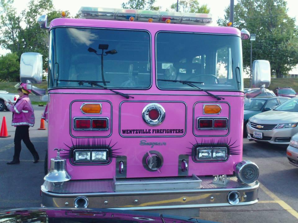 Weber Chevrolet Columbia >> Pink Heals Cancer Awareness Campaign Visits Weber Chevrolet in Creve Coeur