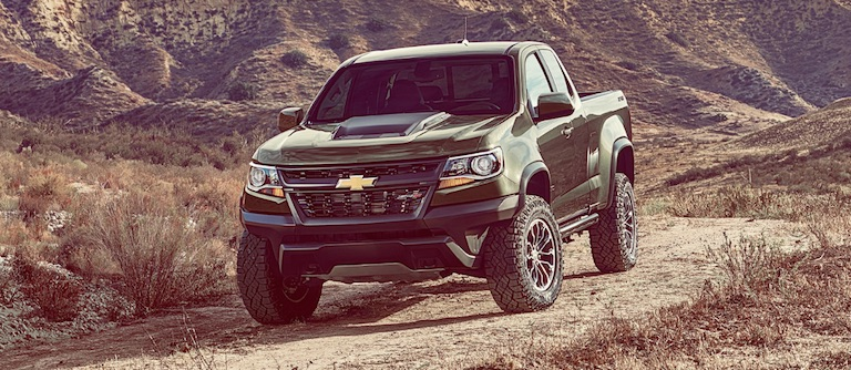Green Chevy Colorado