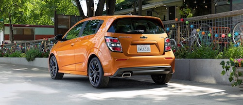 Chevy Sonic Rear