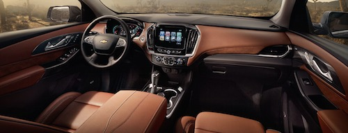 Chevy Traverse Interior