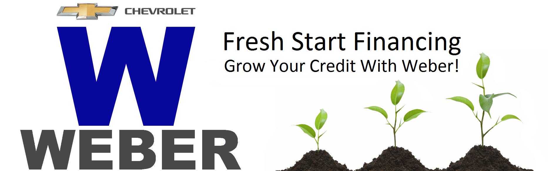 Weber Chevrolet Granite City Il >> Fresh Start | Chevrolet Dealer | auto financing | Chevy ...