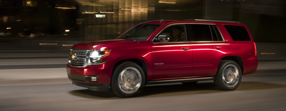 Compare the Chevrolet Tahoe to the Mercedes-Benz GL550, St