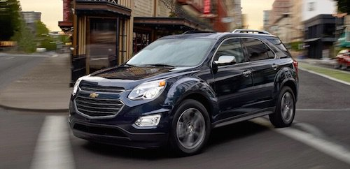 Chevy Equinox Towing Capacity >> The 2017 Chevrolet Equinox Has Arrived