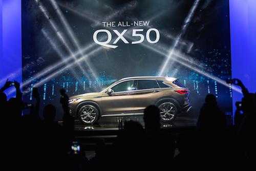 2019 INFINITI QX50 Unveiled