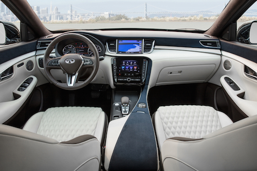 Luxury Inspired INFINITI QX50 Multi-tone Interior