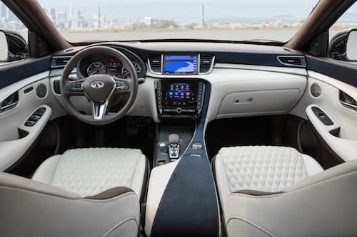 Infiniti Certified Pre Owned >> Luxury Inspired INFINITI QX50 Multi-tone Interior