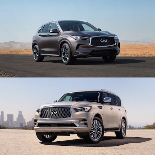 New INFINITI QX50 & QX80 Debut In Houston