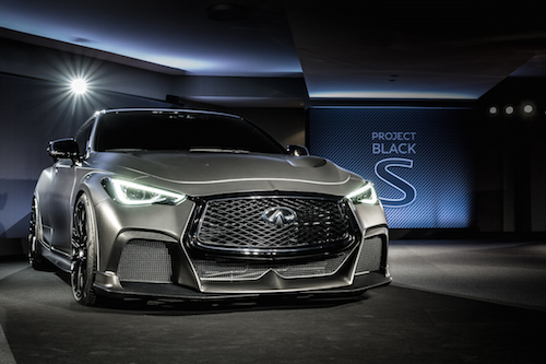 Infiniti s project black s concept unveiled for South motors infiniti service