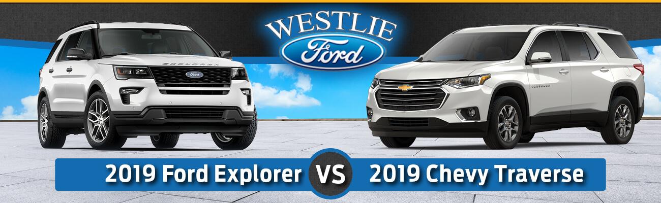 2019 Ford Explorer vs. 2019 Chevy Traverse