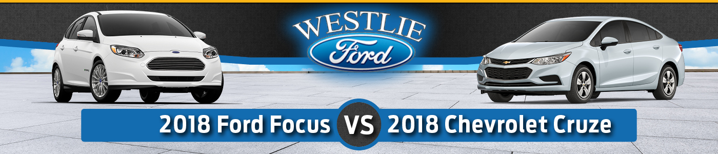 Ford Focus vs. Chevy Cruze