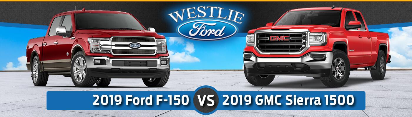 2019 Ford F-150 vs 2019 GMC Sierra 1500