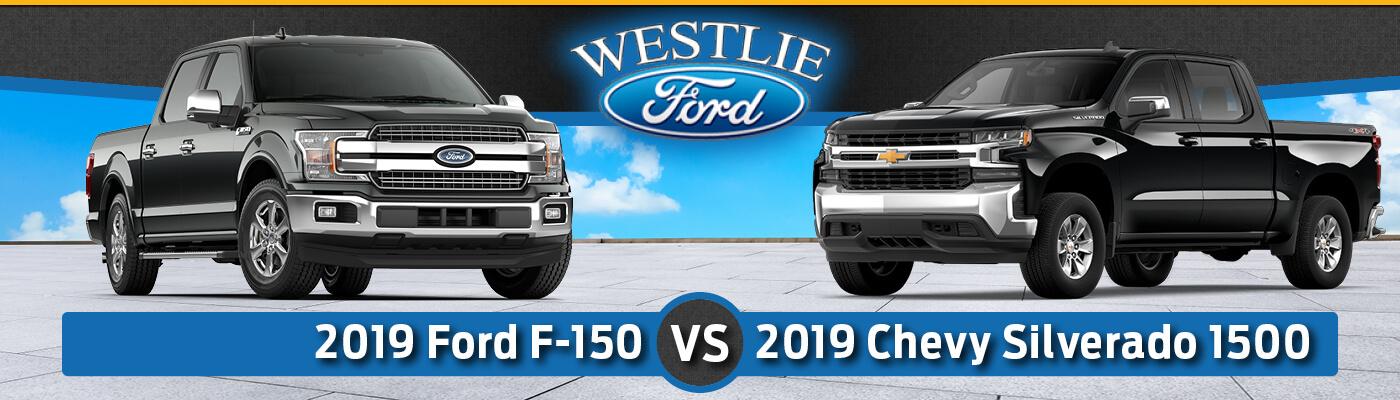 2019 Ford F-150 vs. 2019 Chevy Silverado 1500