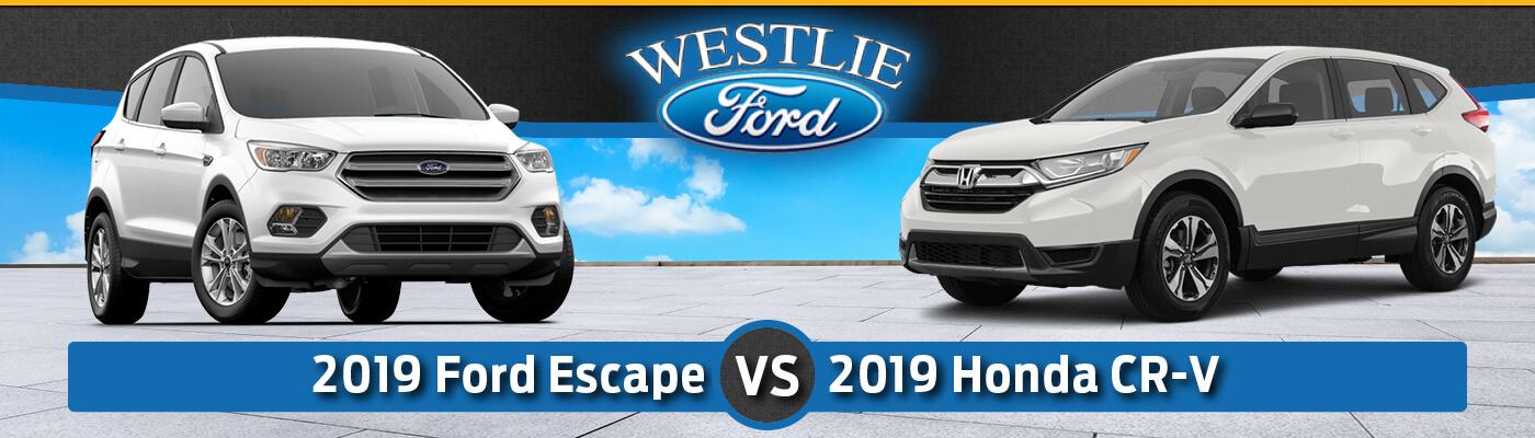 2019 Ford Escape vs. 2019 Honda CR-V