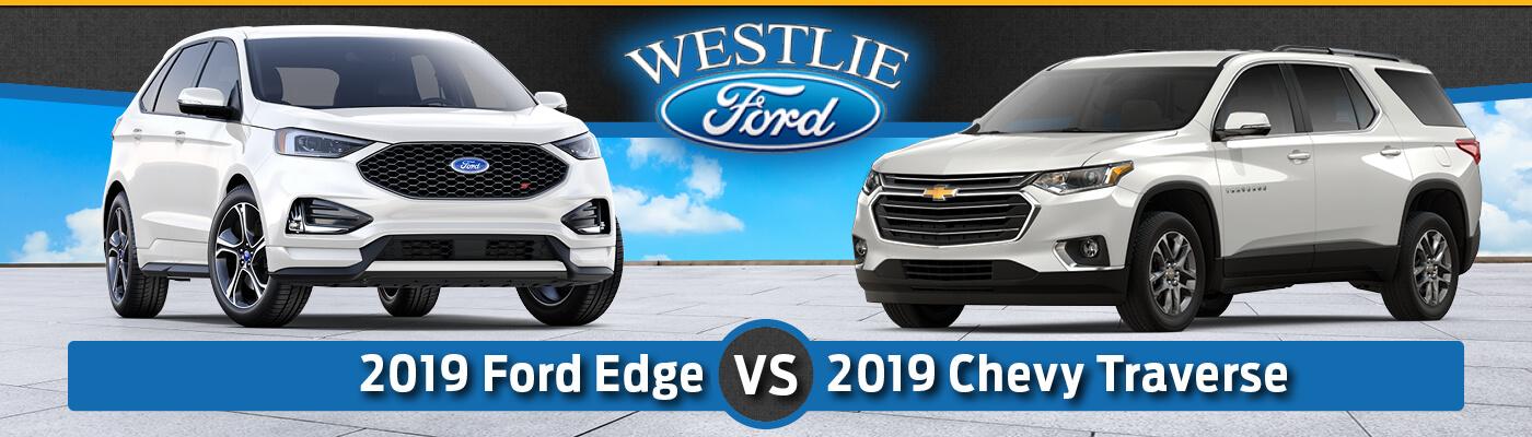 2019 Ford Edge vs. 2019 Chevy Traverse
