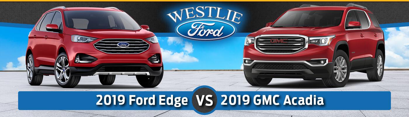 2019 Ford Edge vs. 2019 GMC Acadia