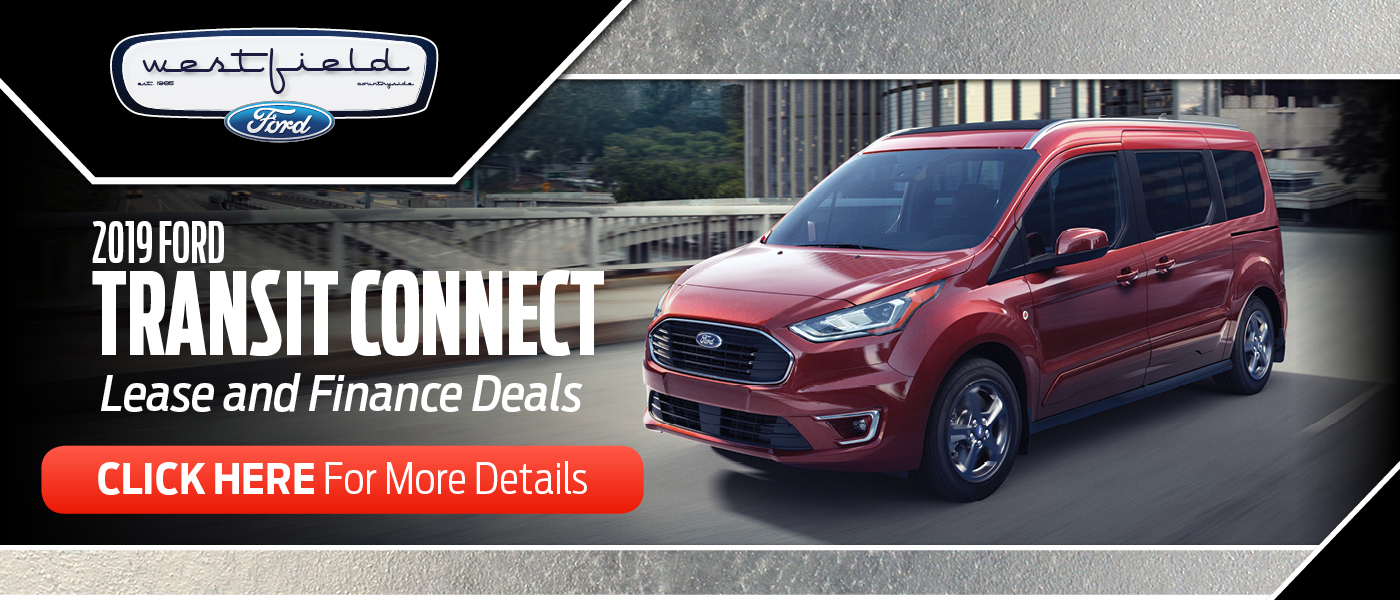 2019 Ford Transit Connect Lease and Finance Deals