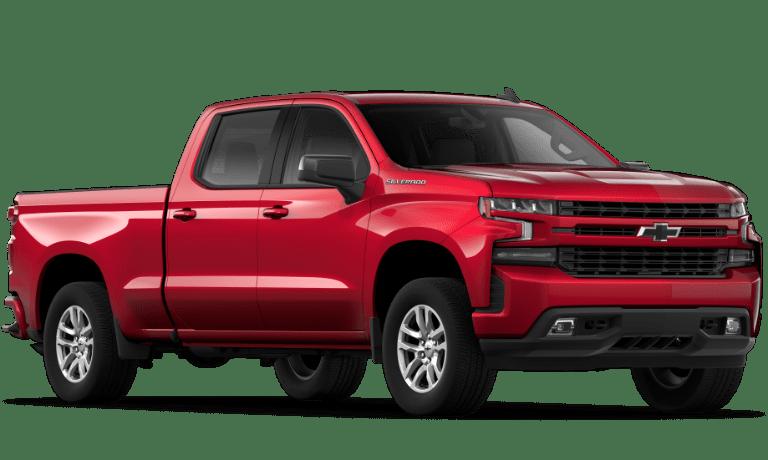 2019 Chevy Silverado 1500 RST Red